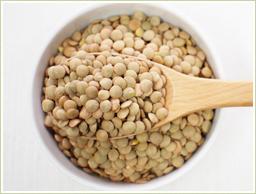 アメリカ産のブラウンレンズ豆を使用