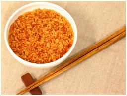 朝食-おかゆ玄米